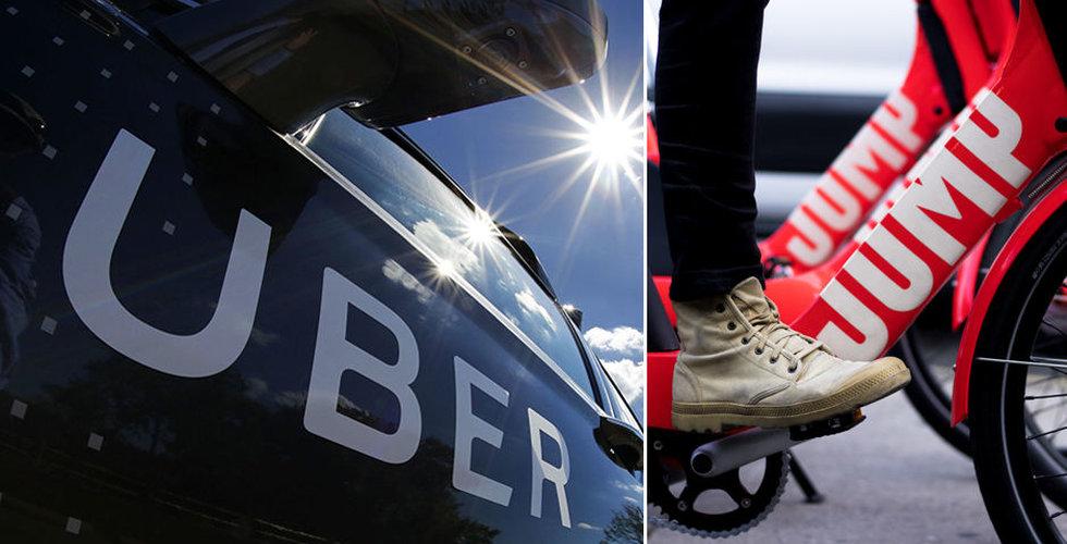 Uber byter bana – lägger större fokus på cyklar och mopeder