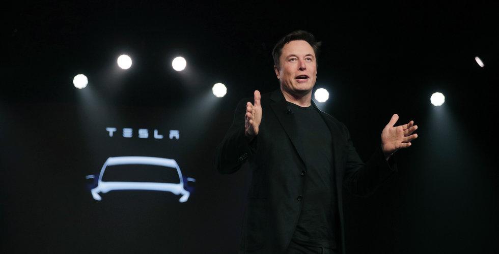 Teslas leveranser i första kvartalet högre än väntat - aktien rusade