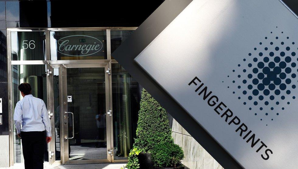 Nu gör Carnegie tummen upp för Fingerprints nya siffror