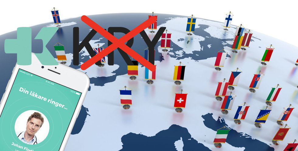 """Breakit - Nätläkaren påbörjar expansionen – och byter ut """"Kry"""" i Europa"""