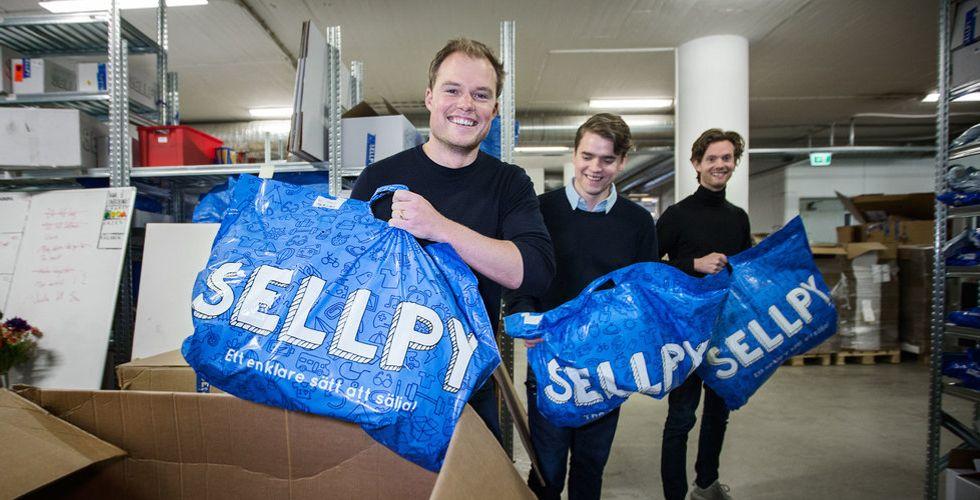 """Nu drar Sellpy in över 100 miljoner på dina gamla prylar – """"Redan dubblat"""""""