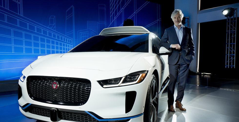 Breakit - Google köper in självkörande Jaguarer