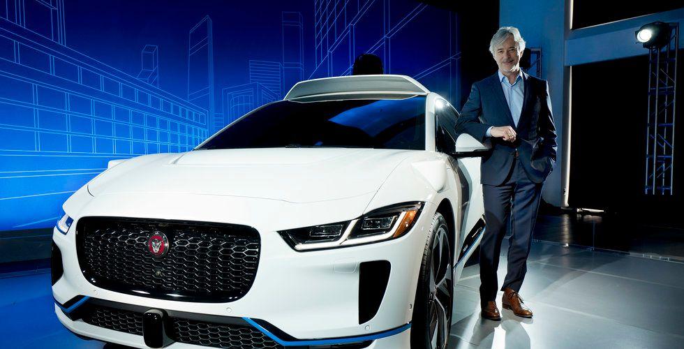 Google köper in självkörande Jaguarer