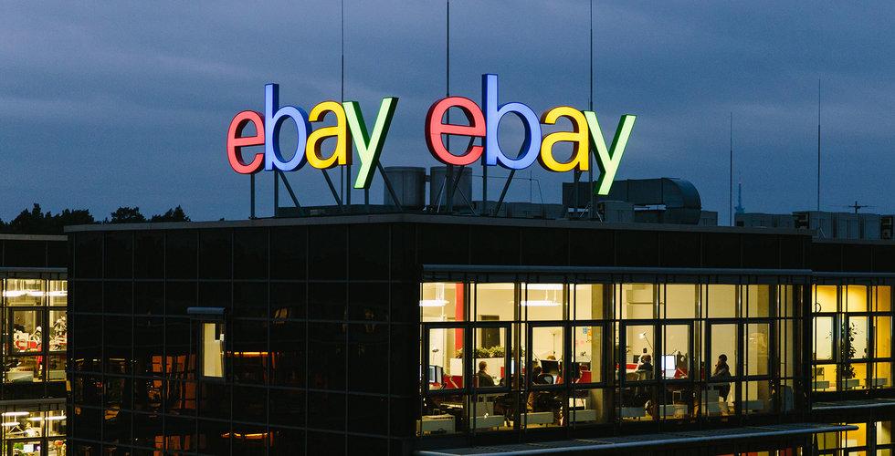 Ebay rullar ut Google Pay