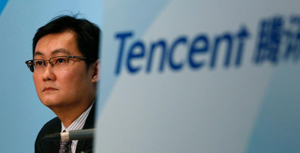 Tencents aktie föll när populära spelet stoppas i Kina