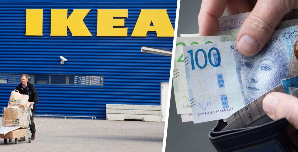 Ikea-varuhus slopar kontanter för gott