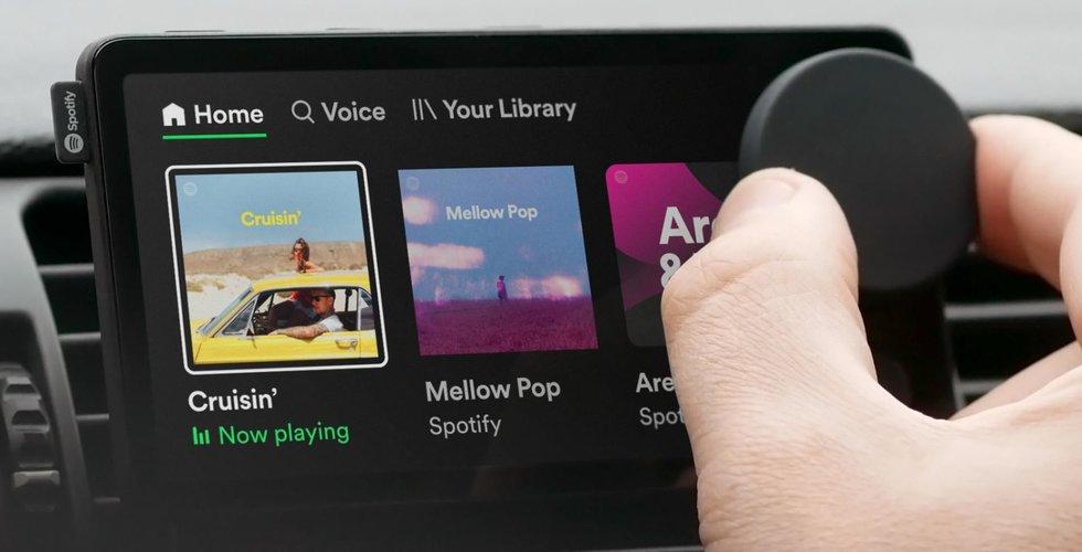 Spotify börjar med hårdvara – släpper Car Thing i USA
