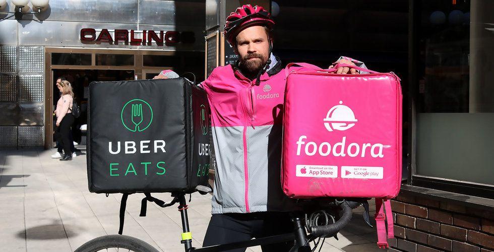 Jag cyklade i två veckor för Uber Eats – tjänade 39 kronor i timmen