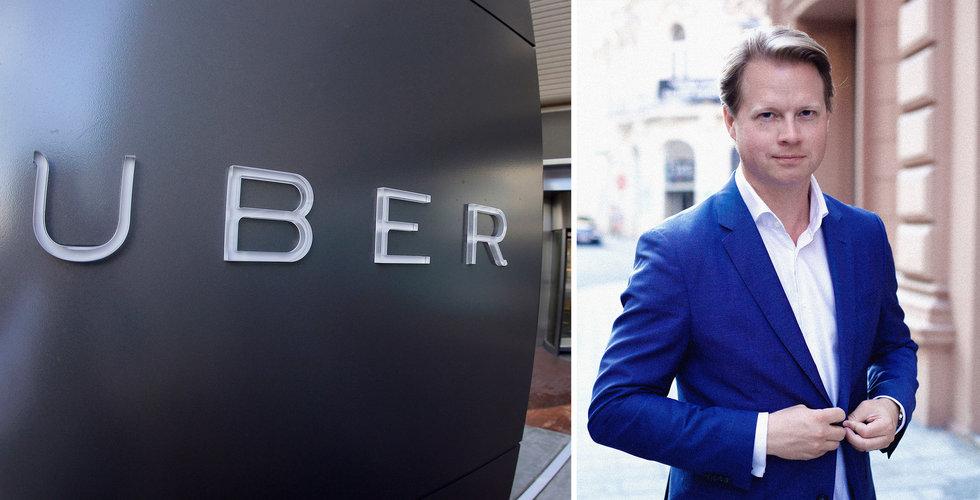 Mr. Green-grundarens nya startup teamar upp med Uber