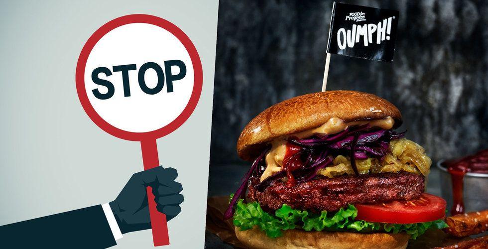 EU vill förbjuda vegoburgare – Oumph slår tillbaka mot nya namnförslaget