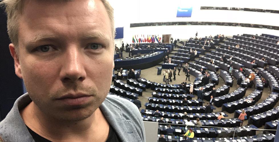 """Emanuel Karlsten om EU:s besked om länkskatt: """"Jag är chockad"""""""