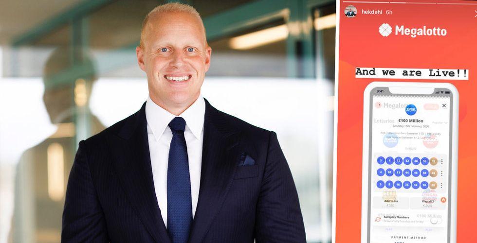 Henrik Persson Ekdahls Optimizer Invest lanserar spelsajten Megalotto