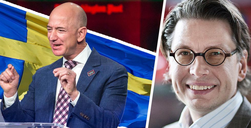 Professorn: Amazon kan ta mer än 50 procent av svenska e-handeln