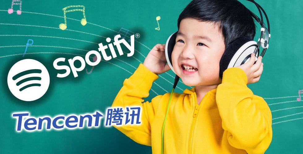 Breakit - Spotifys affär med den kinesiska giganten löser många problem