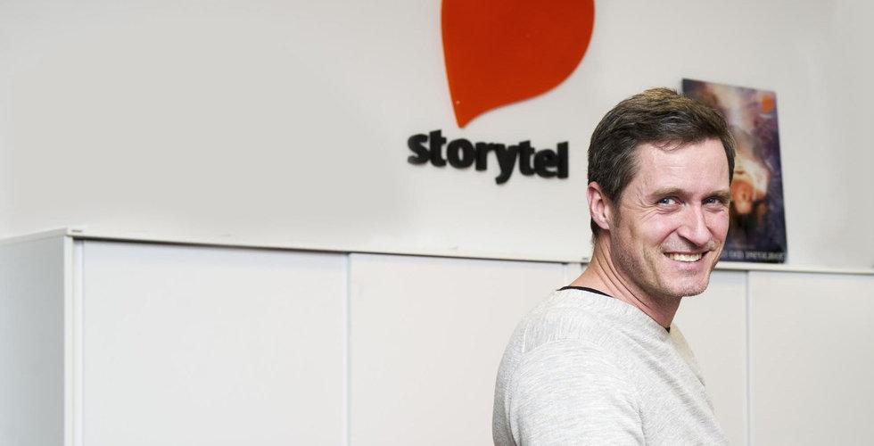 Storytel vill vara förberedda på konkurrens – siktar på att ta hög marknadsandel