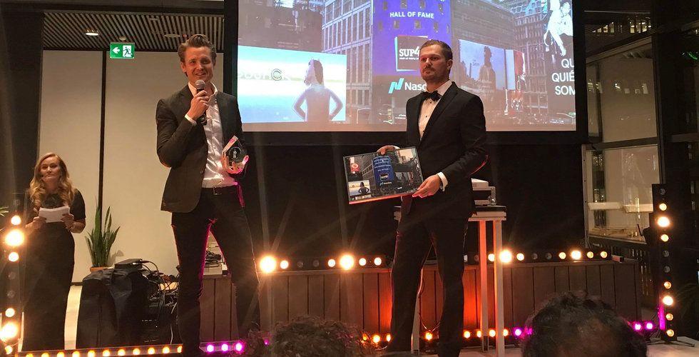 Niklas Adalberth gör Sebastian Siemiatkowski sällskap i Startup Hall of Fame