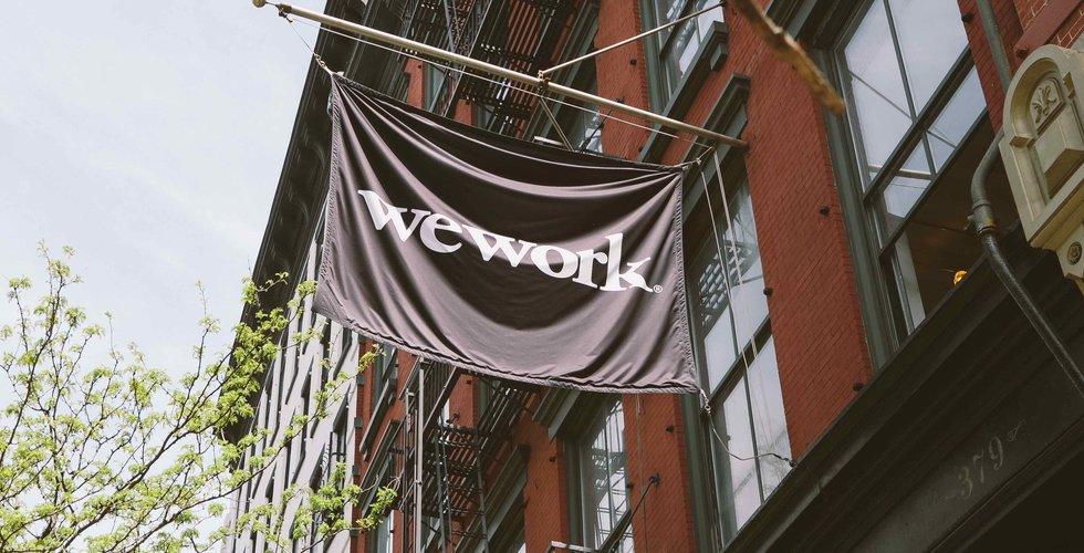 Wework stoppar kinesisk expansion efter 2020