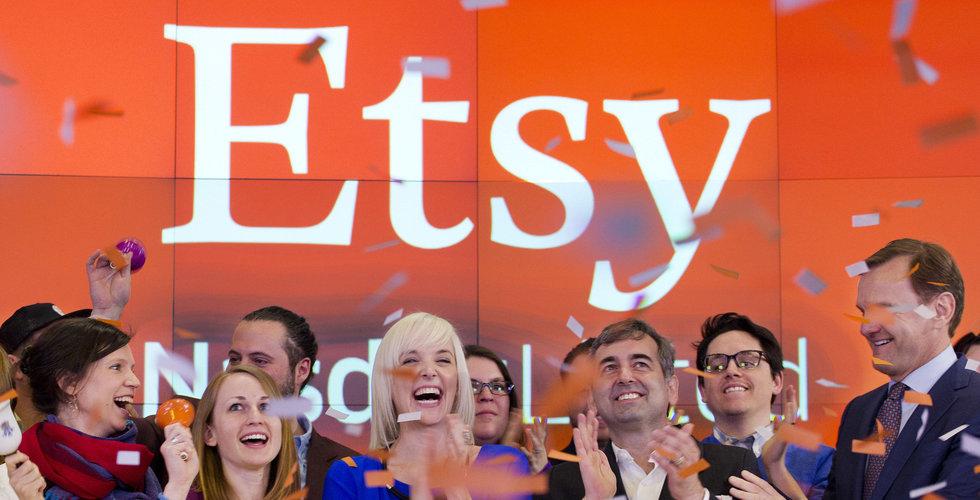 Etsy köper marknadsplats inom mode – för 13 miljarder