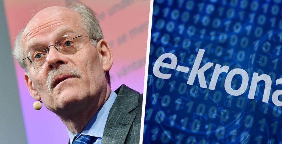 """E-kronan har börjat testas: """"Lika enkelt som att skicka ett meddelande"""""""