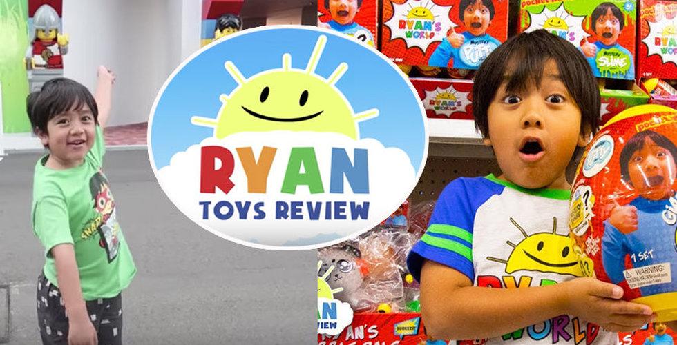 Åttaåring tjänar 200 miljoner på leksaksprovning