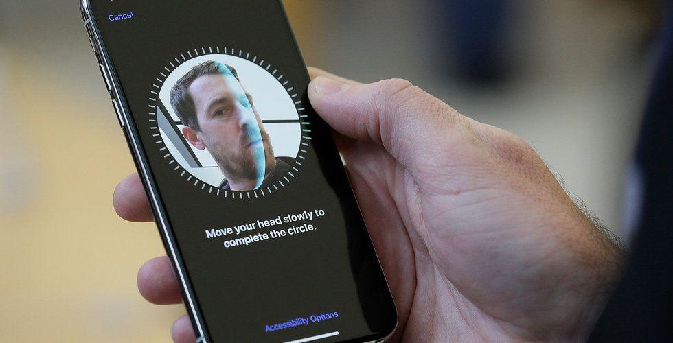 Sydkoreanska banker nobbar Face ID i nya Iphone X