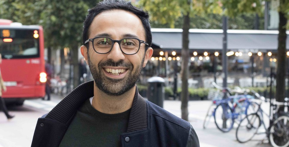 Breakit - Sorosh Tavakoli cashade in på video – nu ska han rädda världen med alger