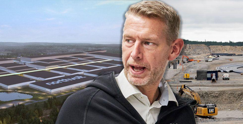 Northvolt tar in nytt kapital – ska bygga ut svenska fabriken