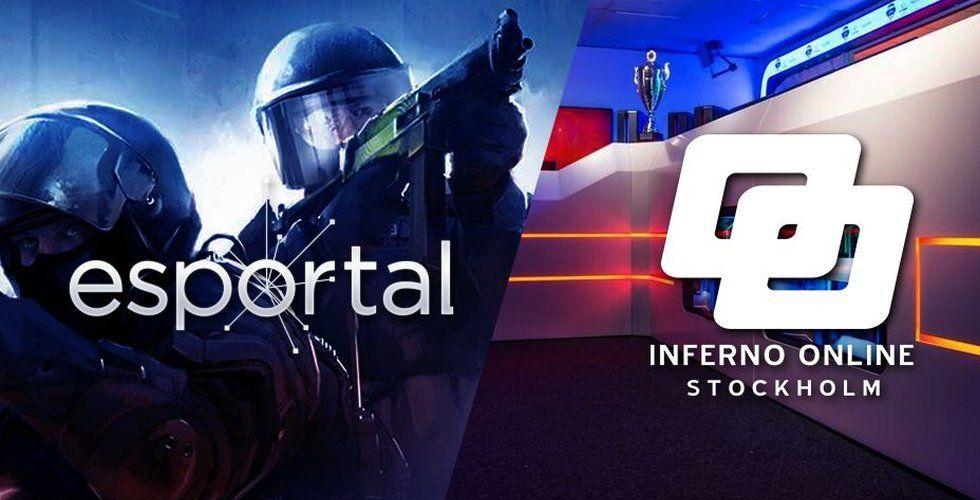 Esportal köper världens största gamingcenter Inferno Online