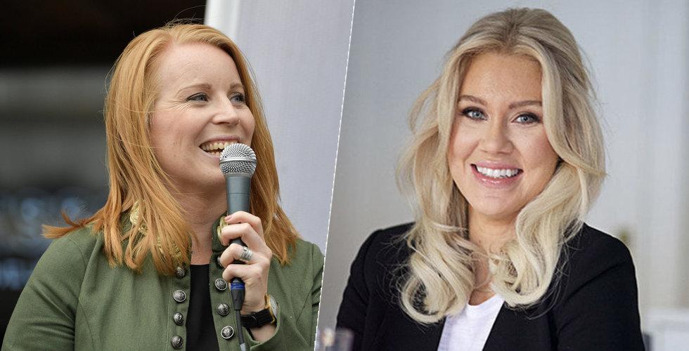 Isabella Löwengrip bjöd centerledaren Annie Lööf på reklam – värt en kvarts miljon