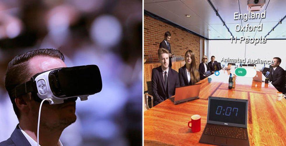 Breakit - Här är VR-appen som ska få dig att bli bättre på att tala inför folk
