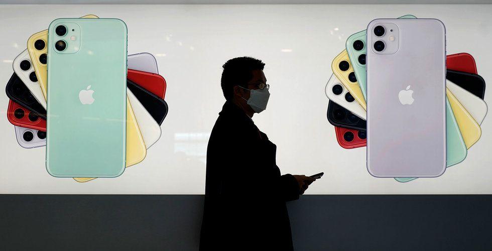 Apple överväger att skjuta på lanseringen av 5G-telefoner