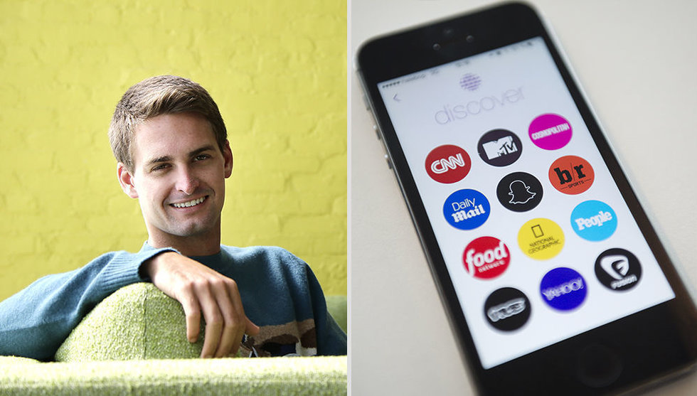 Breakit - Snapchats nya mediedeal - tar alla annonspengarna själv