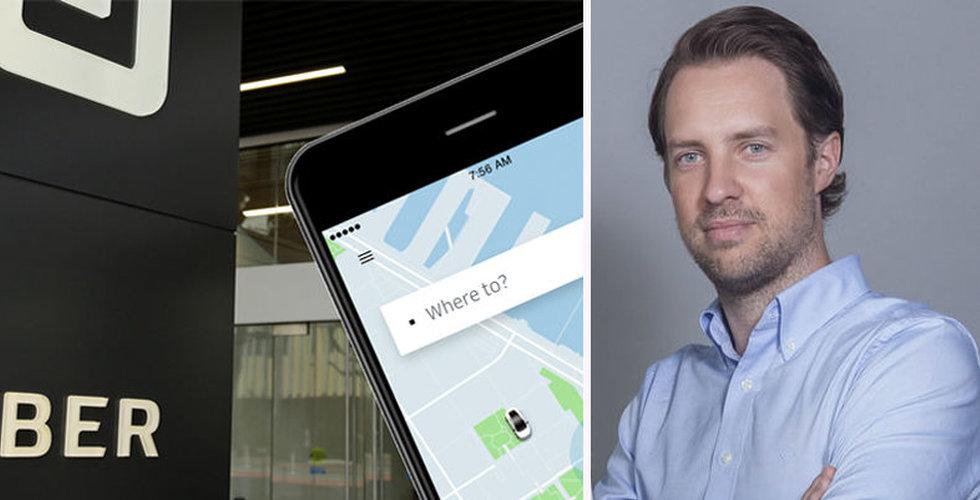 Uber vill köpa hans taxibolag Careem – nu kommenterar Magnus Olsson uppgifterna