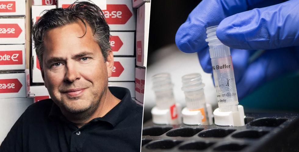 Werlabs och Apotea i samarbete för att sälja coronatester