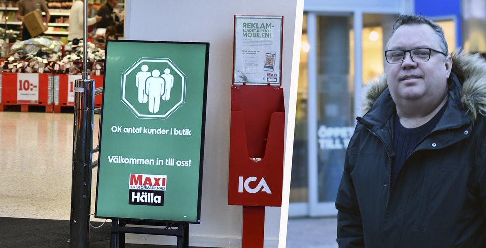 Folkhälsomyndigheten skärpte restriktionerna – Storigos lösning hjälper butikerna att följa dem