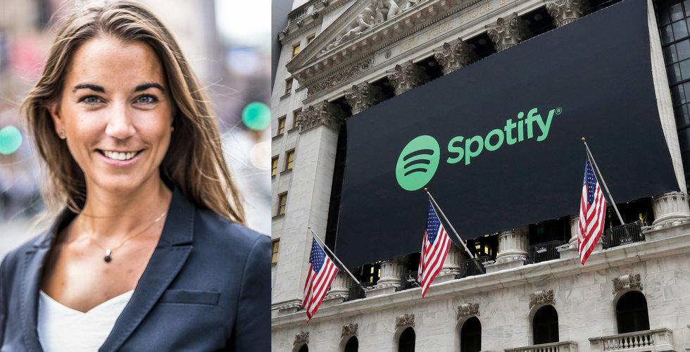 """Svensk rusning till Spotify – """"Kan bli största utländska aktie"""""""