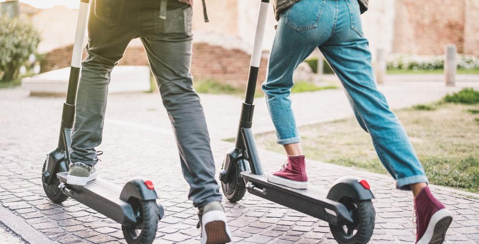 Elsparkcyklar förbjuds från kommunal mark i Köpenhamn