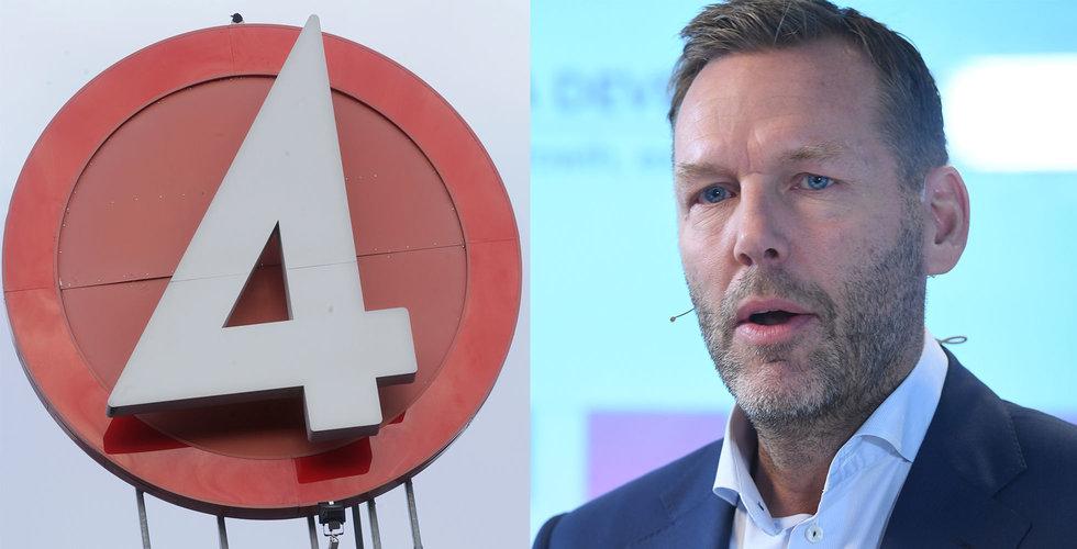 Regeringskansliet emot Telias planer på att köpa TV4