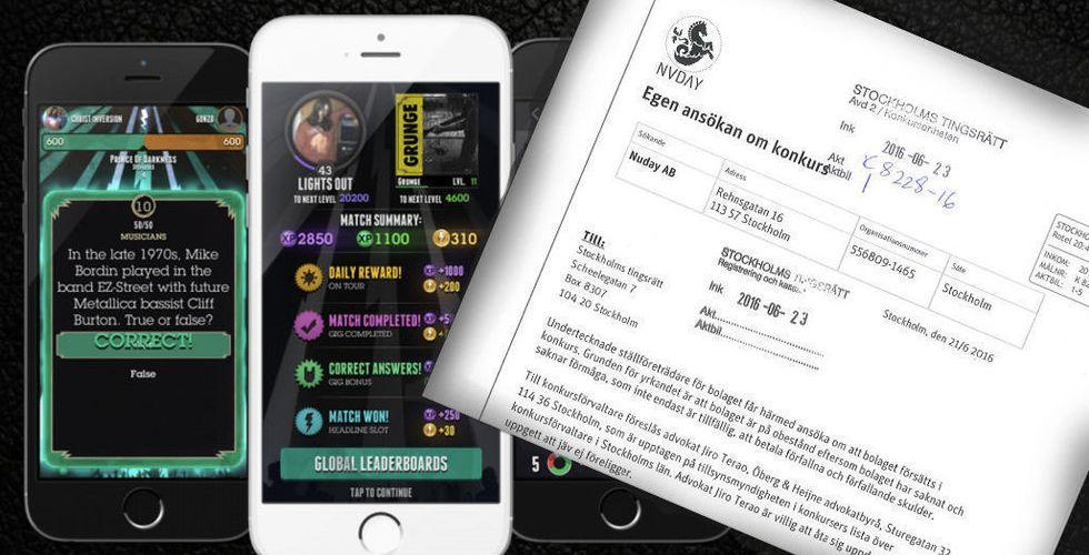 Breakit - Nuday Games i konkurs – nu vill hemlig ägare köpa resterna