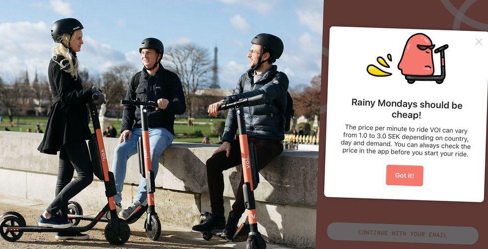 Voi ändrar priset – så mycket kostar det att åka elscooter nu