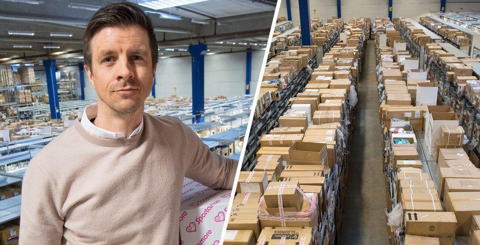 """Sportamore-vd Johan Ryding: """"Flytten blev stökigare än vi trodde"""""""