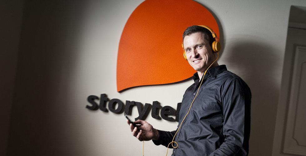 Ljudboksjätten Storytel lanserar på sin femtonde marknad