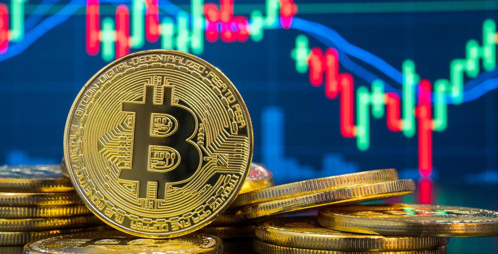 Bitcoin rusade i natt