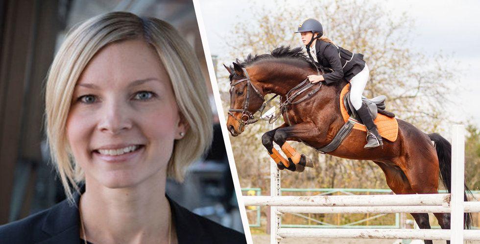 Häst-startupen Ridesum plockar toppchef från Telenor