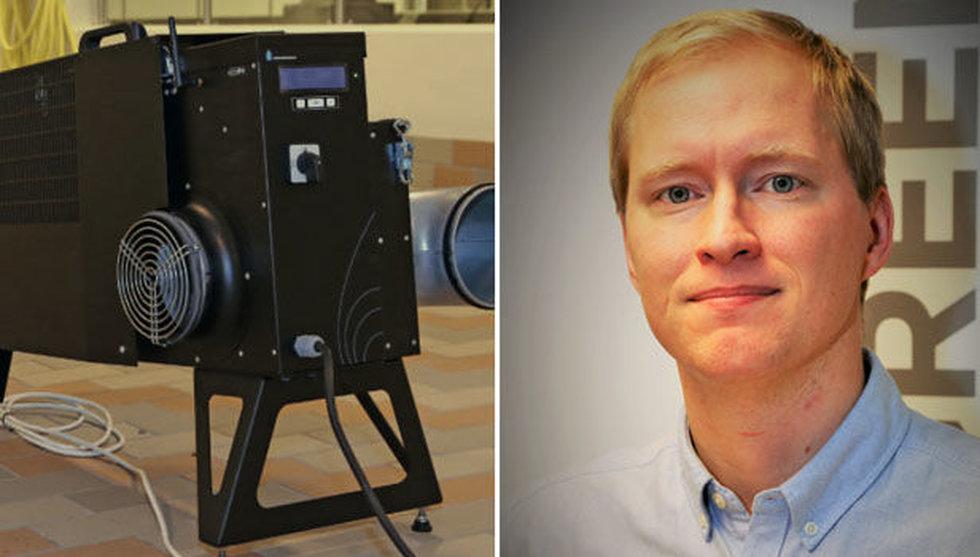 Efter miljonerna – nu expanderar Airwatergreen till Finland