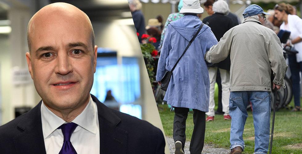 Reinfeldt: Vi måste jobba till vi är 75 år – byt karriär om du behöver