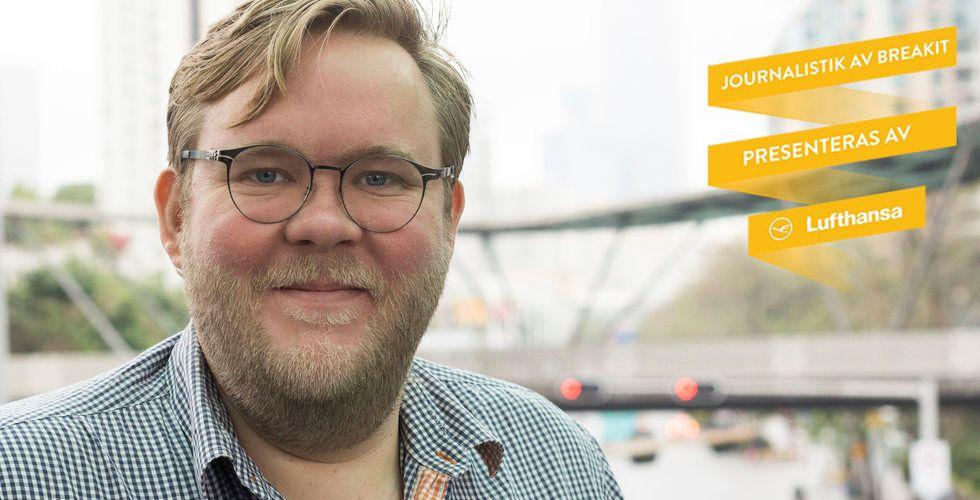 """Breakit - Han hjälper svenskar sälja produkter i Kina: """"Stora problemet här är förtroende"""""""