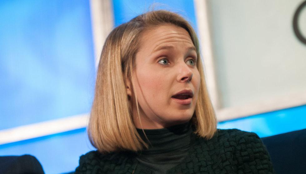 Breakit - Säljrykten om Yahoo tillbakavisas - vd:n Marissa Mayer får stanna