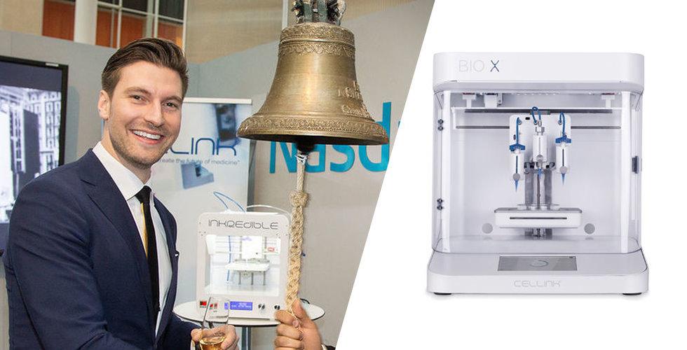 Cellink bygger mänsklig hud med 3D-skrivare – vill in på stora börsen