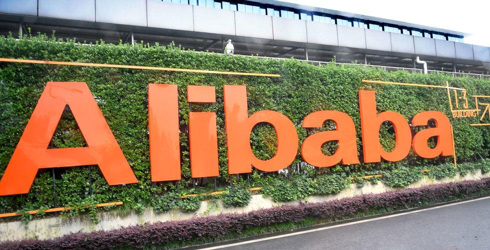 Breakit - Alibaba gick starkt i andra kvartalet - aktien stiger i förhandeln